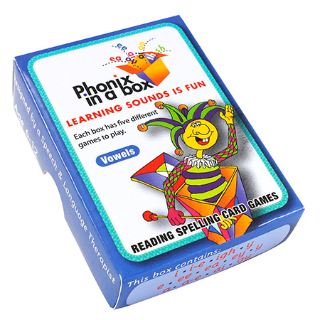 The Blue Box - Phonics Flashcards