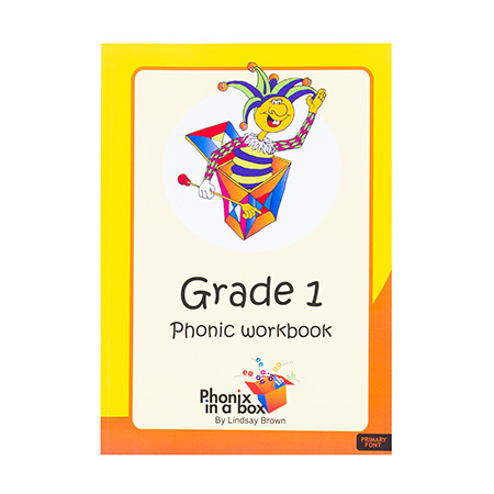 Grade 1 Phonics Workbook - Primary Font
