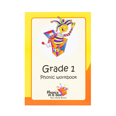 Grade 1 Phonics Workbook - Sassoon Font
