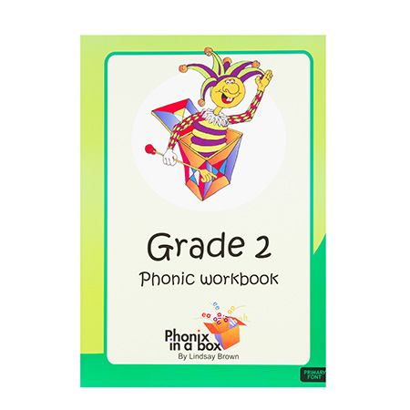 Grade 2 Phonics Workbook - Primary Font