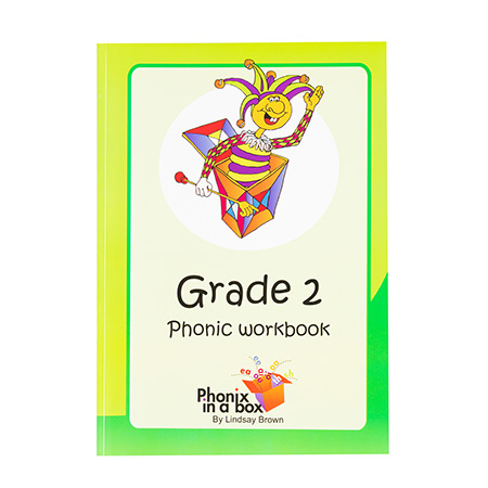 Grade 2 Phonics Workbook - Sassoon Font