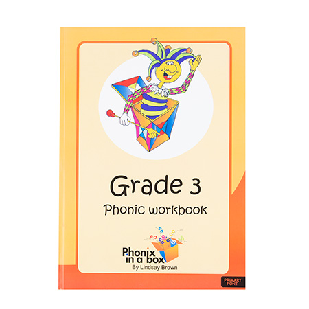 Grade 3 Phonics Workbook - Primary Font