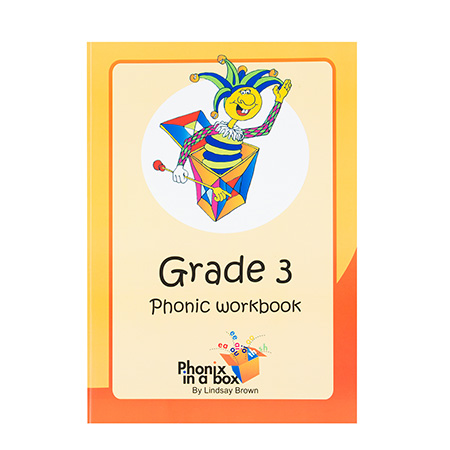 Grade 3 Phonics Workbook - Sassoon Font