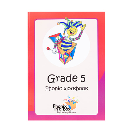 Grade 5 Phonics Workbook