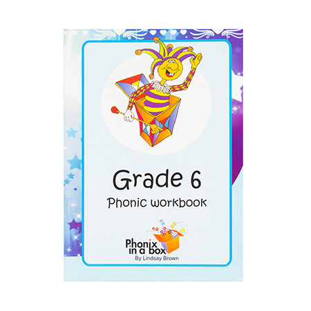 Grade 6 Phonics Workbook