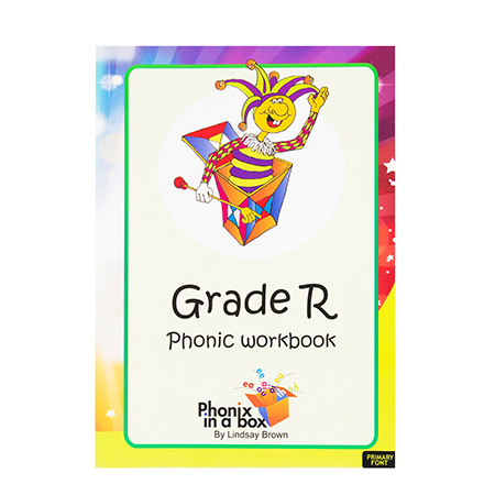 Grade R Phonics Workbook - Primary Font